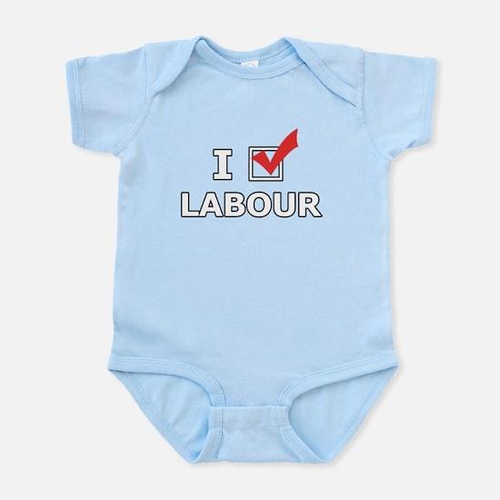 I Vote Labour Body Suit