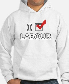 I Vote Labour Jumper Hoody