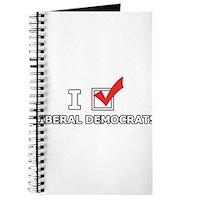 I Vote Liberal Democrats Journal