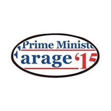 Farage 15 Prime Minister Patch
