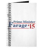 Farage 15 Prime Minister Journal