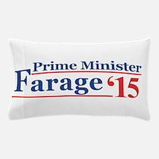 Farage 15 Prime Minister Pillow Case