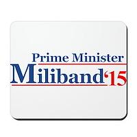 Miliband 15 Prime Minister Mousepad