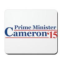 Cameron 15 Prime Minister Mousepad