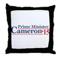 Cameron 15 Prime Minister Throw Pillow