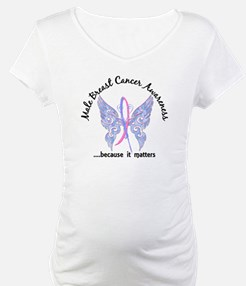 Male Breast Cancer Butterfly 6.1 Shirt