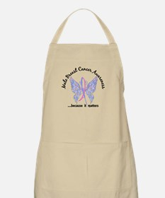 Male Breast Cancer Butterfly 6.1 Apron
