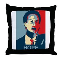 Ed Miliband Hope 2015 Throw Pillow