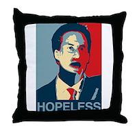 Ed Miliband Hopeless 2015 Throw Pillow