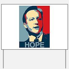 David Cameron Hope 2015 Yard Sign