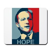 David Cameron Hope 2015 Mousepad