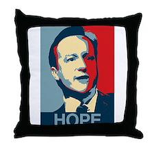 David Cameron Hope 2015 Throw Pillow