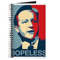 David Cameron Hopeless 2015 Journal
