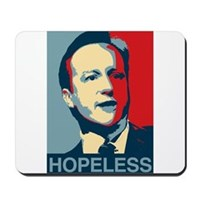 David Cameron Hopeless 2015 Mousepad