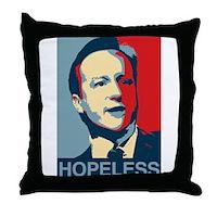 David Cameron Hopeless 2015 Throw Pillow