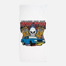 Demolition Derby Beach Towel