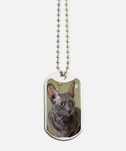 cornish rex blue Dog Tags