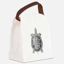 Turtle Vintage Canvas Lunch Bag