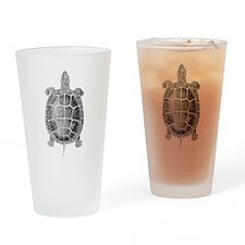 Turtle Vintage Drinking Glass