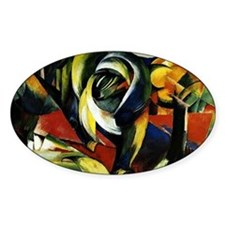 Franz Marc - Mandrill Decal