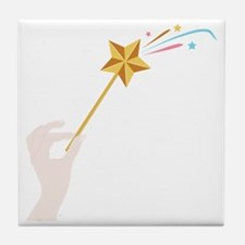 Magic Wand Tile Coaster