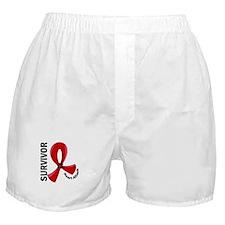 Heart Attack Survivor 12 Boxer Shorts
