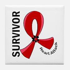Heart Attack Survivor 12 Tile Coaster