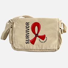 Heart Attack Survivor 12 Messenger Bag