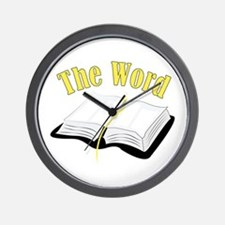 The Word Wall Clock