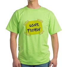 Gone Fishin' Sign T-Shirt
