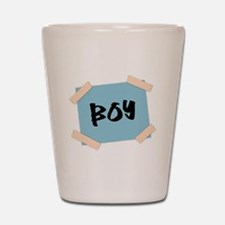 Boy Sign Shot Glass