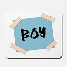 Boy Sign Mousepad
