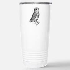 Vintage Owl Travel Mug