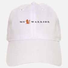 Groovy MS Warrior Grey Orange Baseball Baseball Baseball Cap