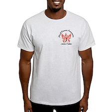 Heart Disease Butterfly 6.1 T-Shirt