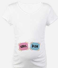 Girl & Boy Twins Signs Shirt