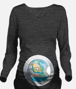 Baby in the Wash Long Sleeve Maternity T-Shirt