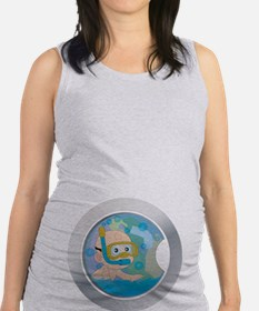 Baby in the Wash Maternity Tank Top