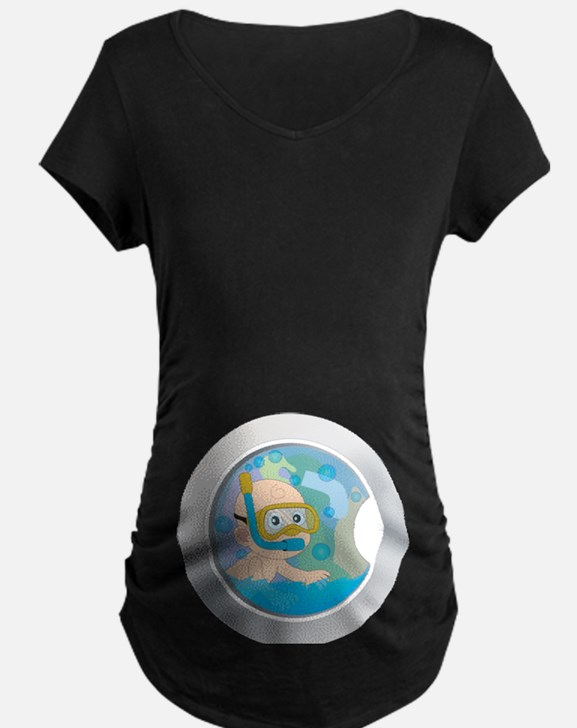 Baby in the Wash Maternity T-Shirt