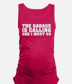 The Garage is Calling Maternity Tank Top