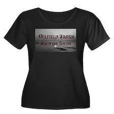 Oilfield Rain or Shine Plus Size T-Shirt