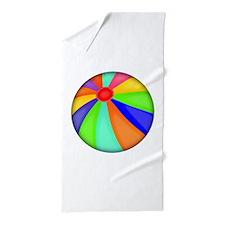 Colorful Beach Ball Beach Towel