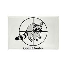 Coon Hunter Rectangle Magnet