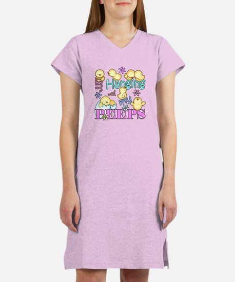 Just Hanging With My Peeps Women's Nightshirt