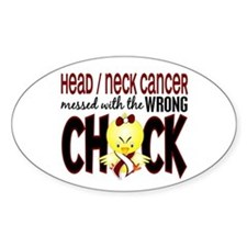 Head Neck Cancer MessedWithWrongChi Decal