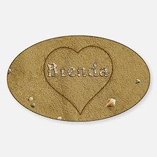 Brenda Beach Love Decal