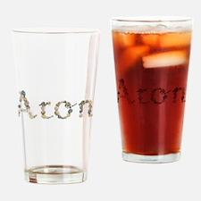 Aron Seashells Drinking Glass