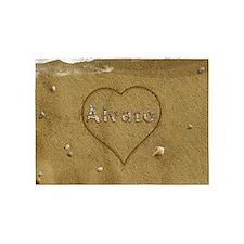 Alvaro Beach Love 5'x7'Area Rug