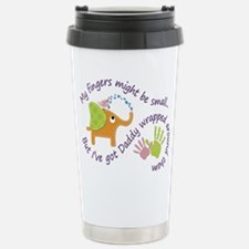 My fingers might be sma Stainless Steel Travel Mug