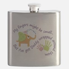 My fingers might be small, but Ive got Daddy Flask